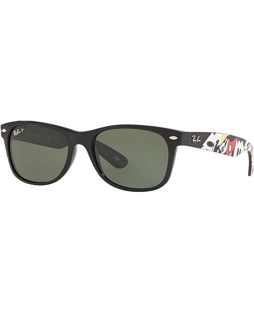 Ray-Ban x Disney Polarized Sunglasses, New Wayfarer RB2132 55