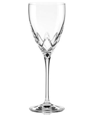 Stemware, Venetian Lace Signature Wine Glass