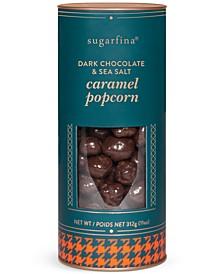 Dark Chocolate Caramel Popcorn Canister
