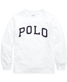 Polo Ralph Lauren Little Boys Jersey Cotton Shirt