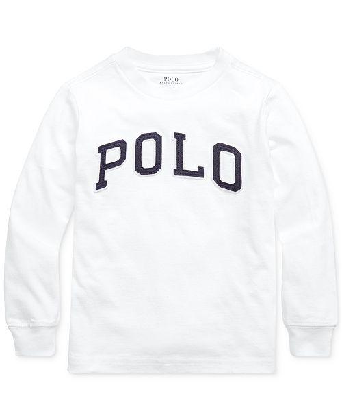 Polo Ralph Lauren Little Boys Jersey Cotton Shirt