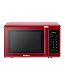 Magic Chef 0.9 Cubic Feet 900W Countertop Microwave Oven