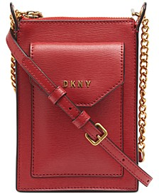 Alexa Leather Phone Crossbody, Created for Macy's