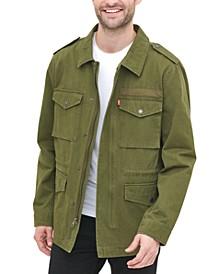 Men's 4-Pocket Logo-Print Field Jacket