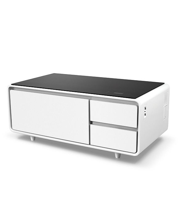 Furniture Sobro Smart Storage Coffee Table with Refrigerated Drawer