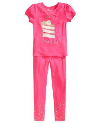 Toddler Girls Glitter-Bottom Leggings, Created for Macy's