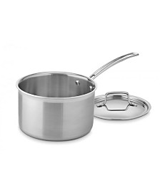 Cuisinart MultiClad Pro 4-Qt. Saucepan with Cover