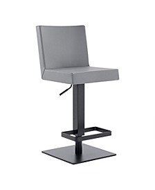 Legacy Grey Bar Stool, Quick Ship