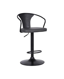 Eagle Adjustable Bar Stool, Quick Ship