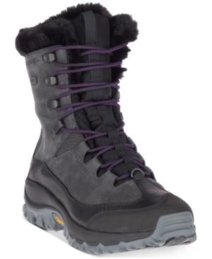 Merrell Women's Thermo Rhea Mid Waterproof Winter Boots Women's Shoes