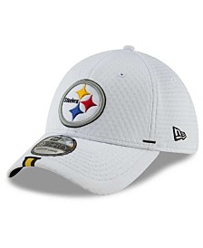 New Era Little Boys Pittsburgh Steelers 2019 Training 39THIRTY Stretch Fitted Cap