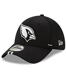 New Era Arizona Cardinals Training Black 39THIRTY Cap