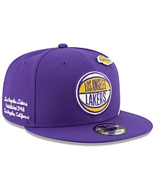 New Era Los Angeles Lakers On-Court Collection 9FIFTY Cap