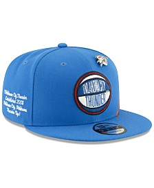 New Era Oklahoma City Thunder On-Court Collection 9FIFTY Cap