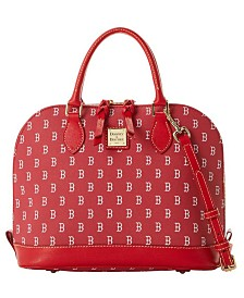 Dooney & Bourke Boston Red Sox Zip Zip Satchel