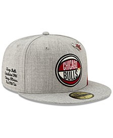 Chicago Bulls 2019 On-Court Collection 59FIFTY Fitted Cap