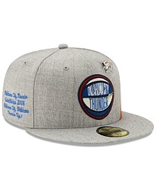 New Era Oklahoma City Thunder 2019 On-Court Collection 59FIFTY Fitted Cap