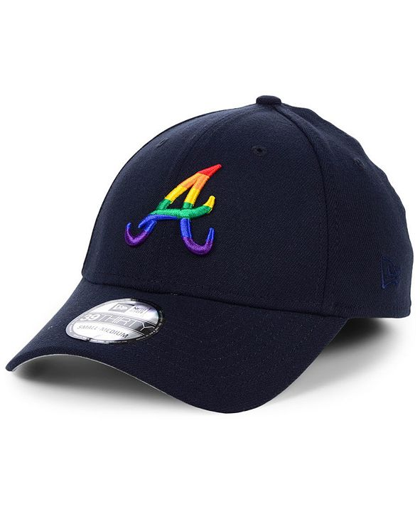 New Era Atlanta Braves Pride 39THIRTY Stretch Fitted Cap
