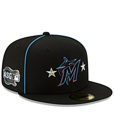Miami Marlins All Star Game Patch 59FIFTY Cap