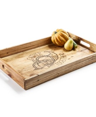 CLOSEOUT! Harvest Gather Together Tray