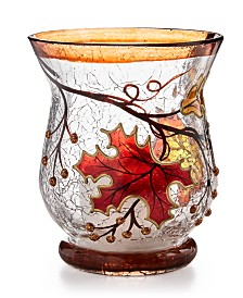 Home Essentials Harvest Leaf Votive Holder