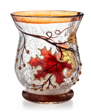 Harvest Leaf Votive Holder