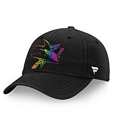San Jose Sharks Pride Fundamental Strapback Cap