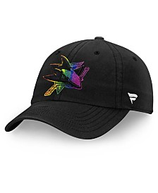 Authentic NHL Headwear San Jose Sharks Pride Fundamental Strapback Cap
