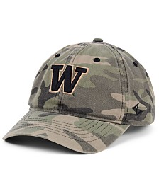 Zephyr Washington Huskies Maverick Camo Strapback Cap
