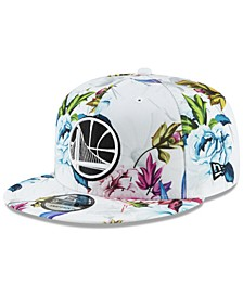 Golden State Warriors Funky Floral 9FIFTY Cap