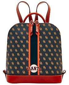 Dooney & Bourke San Francisco Giants Zip Pod Stadium Signature Backpack