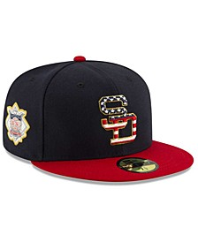 Boys' San Diego Padres Stars and Stripes 59FIFTY Cap