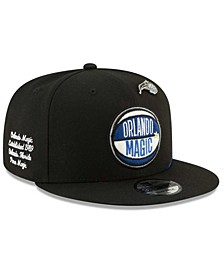 Big Boys Orlando Magic On-Court Collection 9FIFTY Snapback Cap