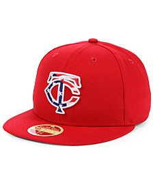 New Era Minnesota Twins Retro 2009 Stars and Stripes 59FIFTY Fitted Cap