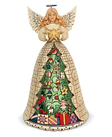 Jim Shore Angel with Christmas Tree Skirt