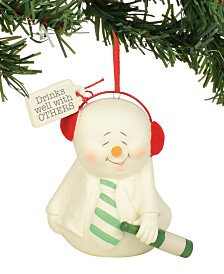 Department 56 Snowpinions Drinks Well With Others Ornament