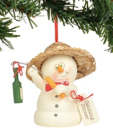 Department 56 Snowpinions Catching Dinner Ornament