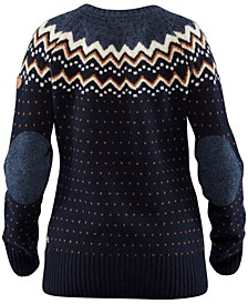Ovik Patterned Wool Active Sweater