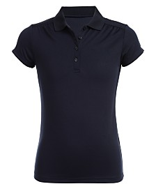Nautica Big Girls Sensory Friendly Polo Shirt