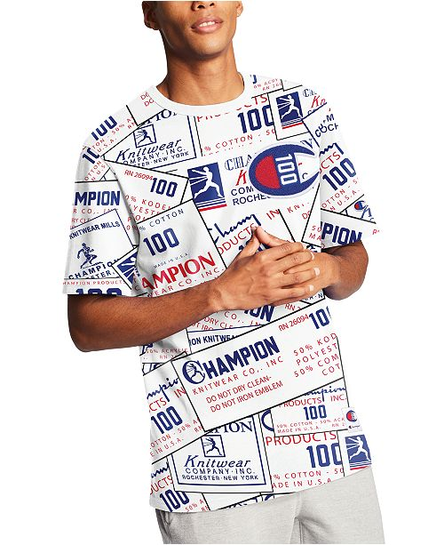 Champion Men's Century Logo T-Shirt