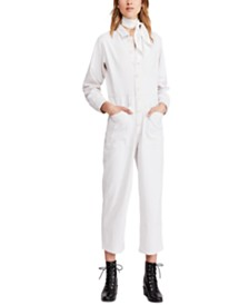 Free People Gia Coverall Jumpsuit