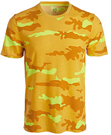 ID Ideology Men's Exploded Camo T-Shirt, Created for Macy's