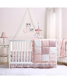 The Peanutshell Grace 4-Piece Crib Bedding Set