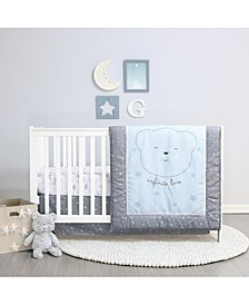Infinite Love 4-Piece Crib Bedding Set