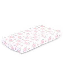 The Peanutshell Farmhouse Floral Changing Pad Cover