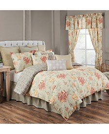 Rose Tree Nadia 4 piece Queen Comforter