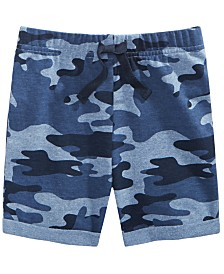 First Impressions Baby Boys Camo-Print Shorts, Created for Macy's