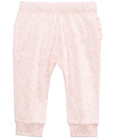 First Impressions Baby Girls Cotton Ruffled Jogger Pants, Created for Macy's