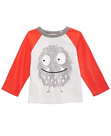 First Impressions Toddler Boys Monster-Print T-Shirt, Created for Macy's