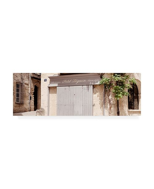 """Trademark Global Philippe Hugonnard France Provence 2 Provencal French Store Uzes Canvas Art - 15.5"""" x 21"""""""